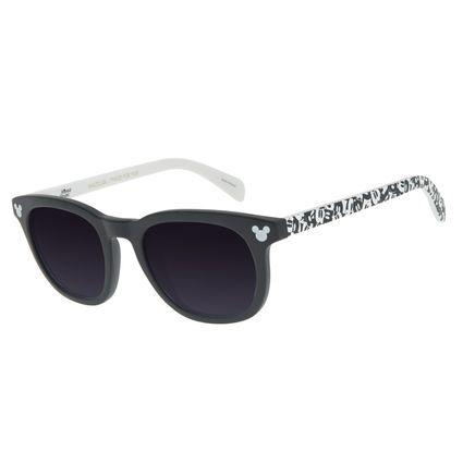 Óculos de Sol Infantil Mickey Mouse Quadrado Preto OC.KD.0652-2001