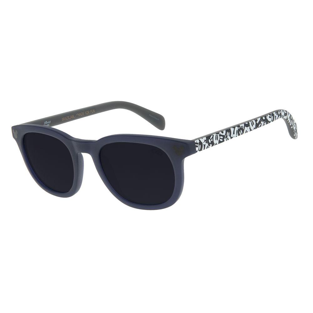Óculos de Sol Infantil Mickey Mouse Quadrado Azul OC.KD.0652-0508