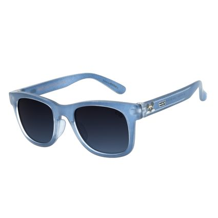 Óculos de Sol Infantil Disney Mickey Mouse Quadrado Azul OC.KD.0647-2008