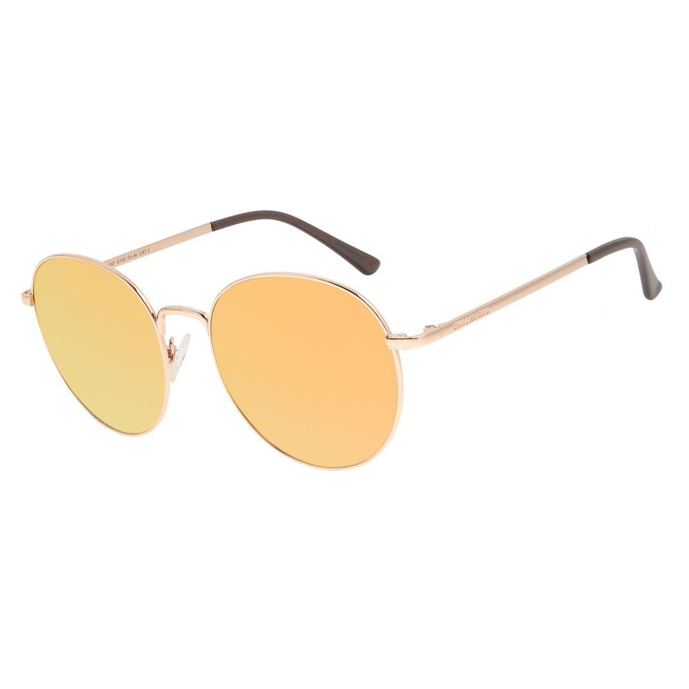 Óculos de Sol Feminino Chilli Beans Rosé Banhado A Ouro OC.MT.2997-5795