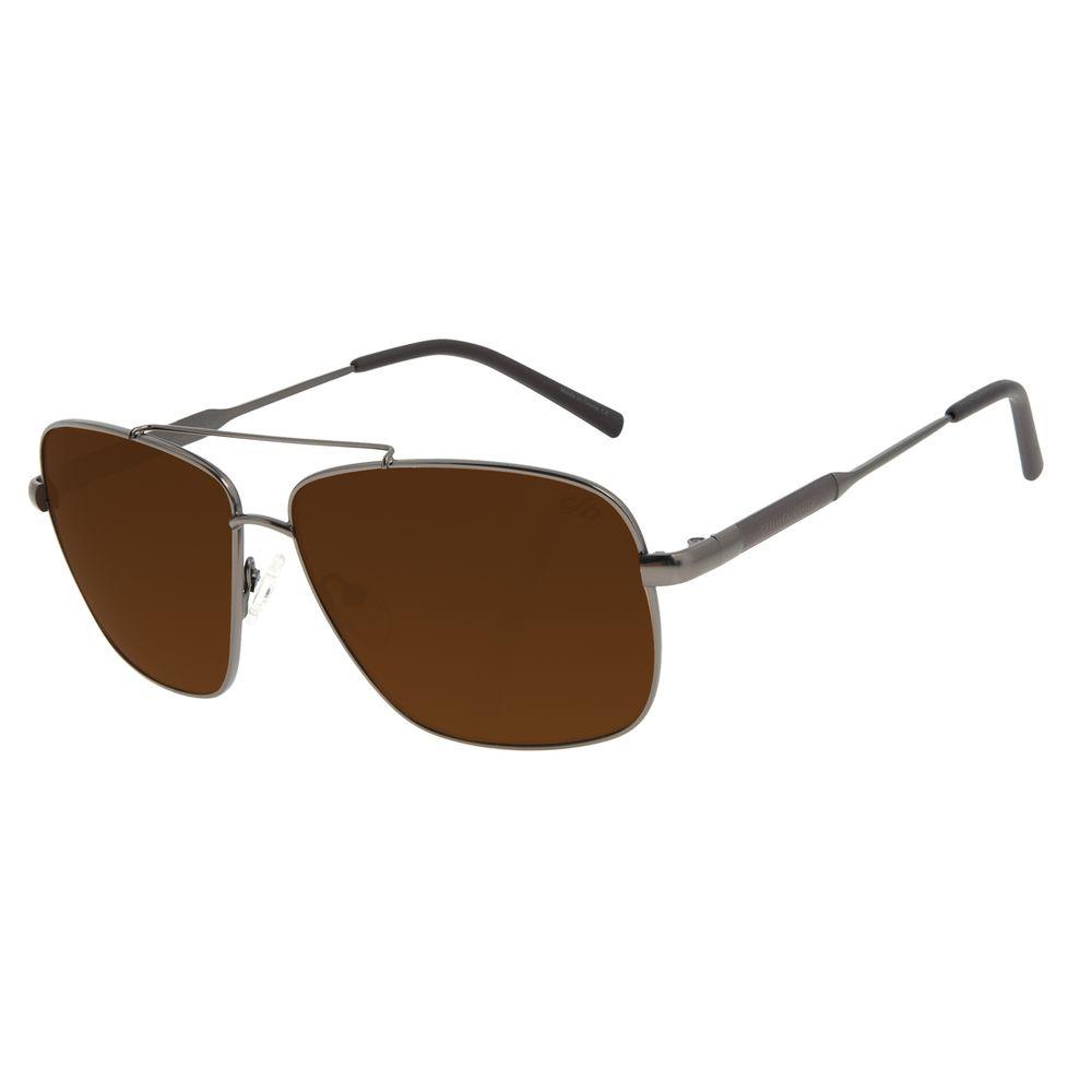 Óculos de Sol Unissex Chilli Beans Executivo Marrom OC.MT.2995-0222