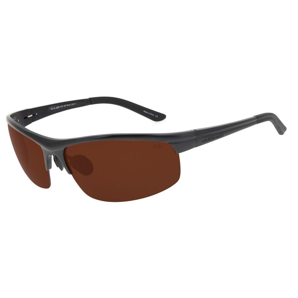 Óculos de Sol Masculino Chilli Beans Flutuante Esportivo Preto Polarizado OC.AL.0251-0101