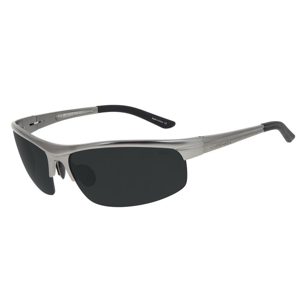 Óculos de Sol Masculino Chilli Beans Flutuante Esportivo Ônix Polarizado OC.AL.0251-0122