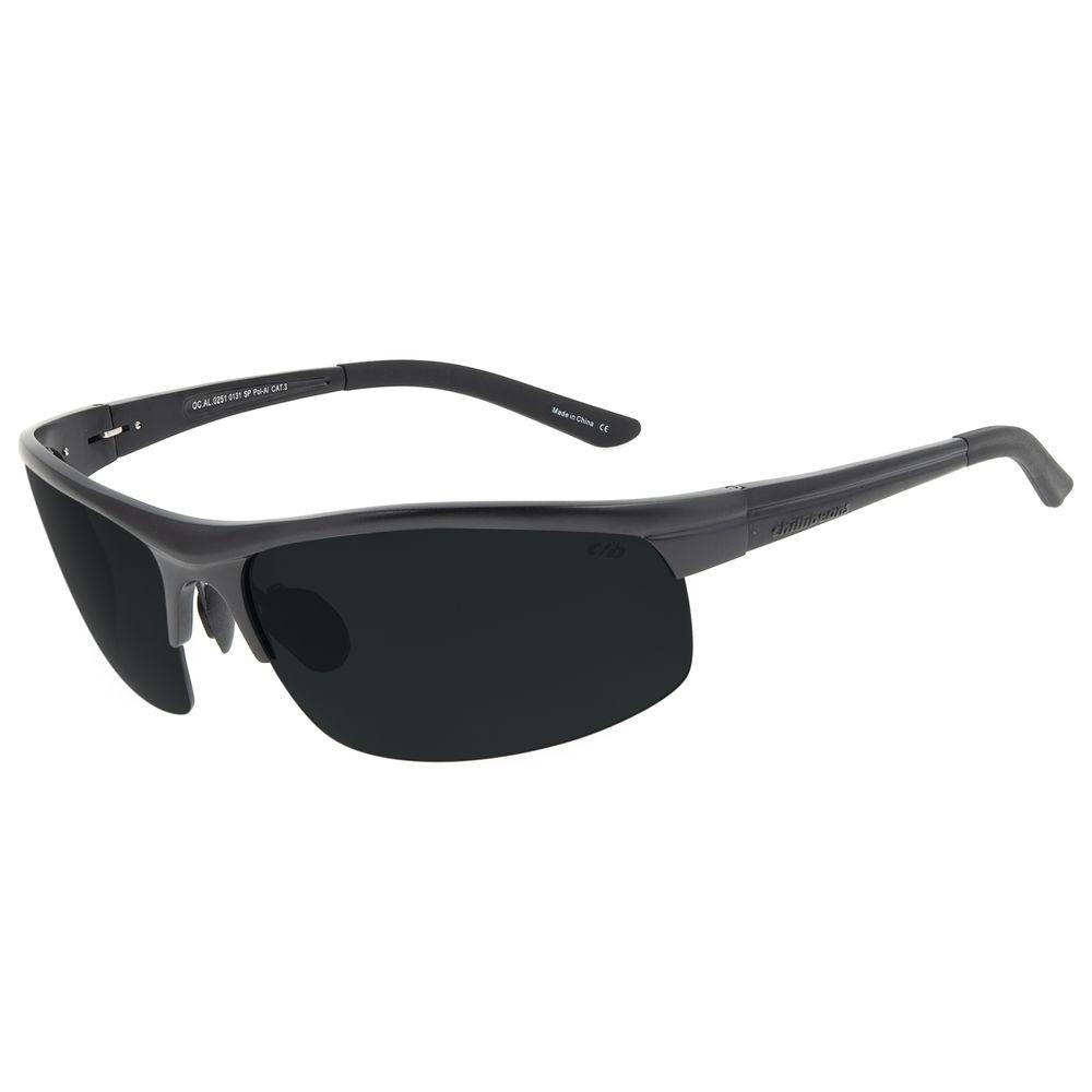 Óculos de Sol Masculino Chilli Beans Flutuante Esportivo Fosco Polarizado OC.AL.0251-0131