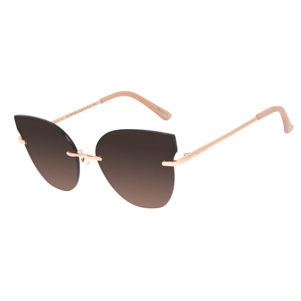 Óculos de Sol Feminino Chilli Beans Flutuante Rose OC.MT.2912-8395