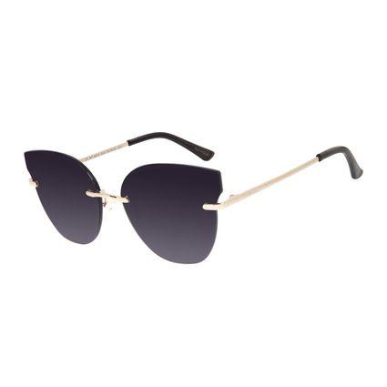 Óculos de Sol Feminino Chilli Beans Flutuante Dourado OC.MT.2912-2021