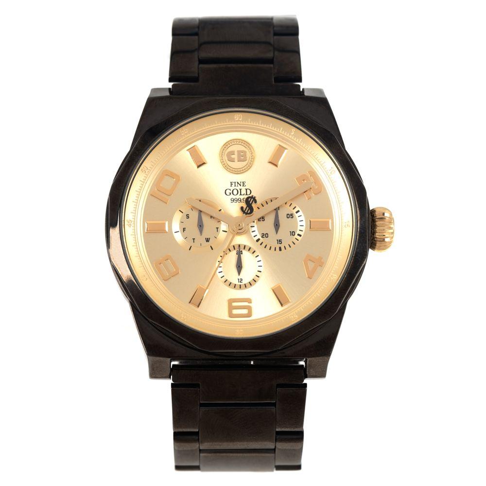 Relógio Analógico Masculino Funk-se Ludmilla Metal Preto RE.MT.1170-2101