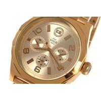 Relógio Analógico Masculino Funk-se Ludmilla Metal Dourado RE.MT.1170-2121.5