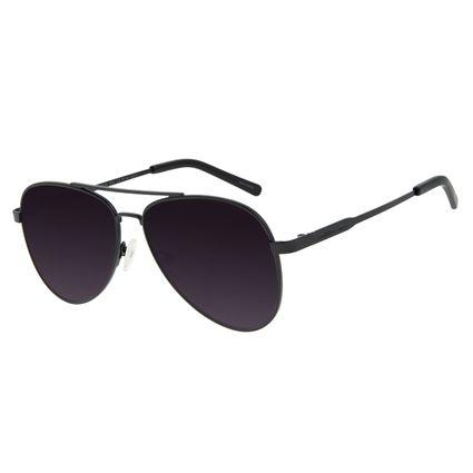 Óculos de Sol Unissex Chilli Beans Aviador Metal Fosco OC.MT.2846-2031