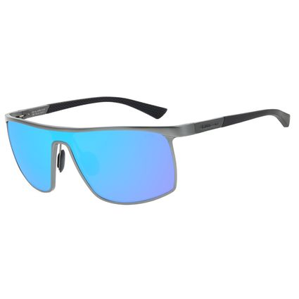 Óculos de Sol Masculino Chilli Beans Quadrado Esportivo Espelhado Polarizado OC.AL.0258-0122