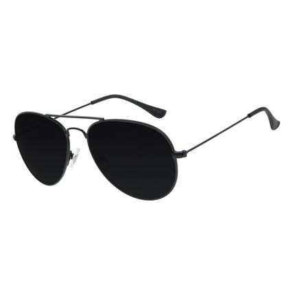 Óculos de Sol Unissex Chilli Beans Aviador Metal Fosco OC.MT.2821-0131