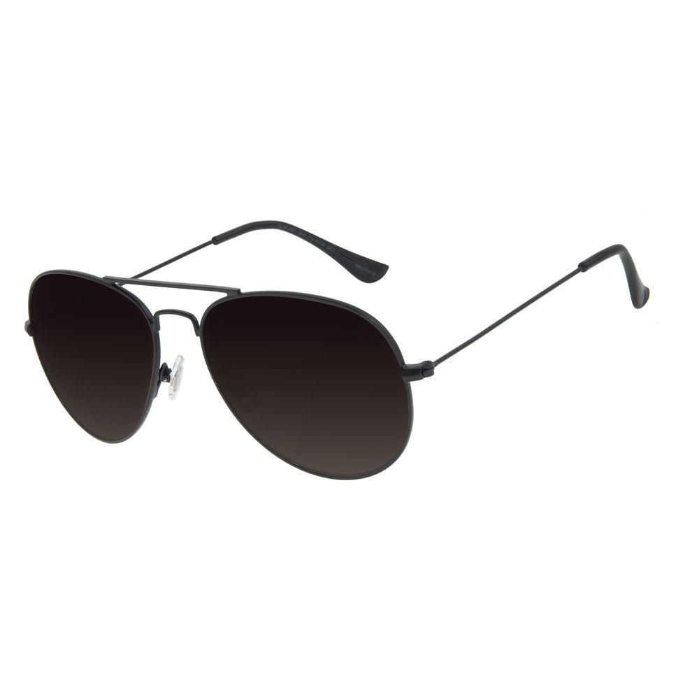 Óculos de Sol Unissex Chilli Beans Aviador Metal Degradê OC.MT.2821-2031