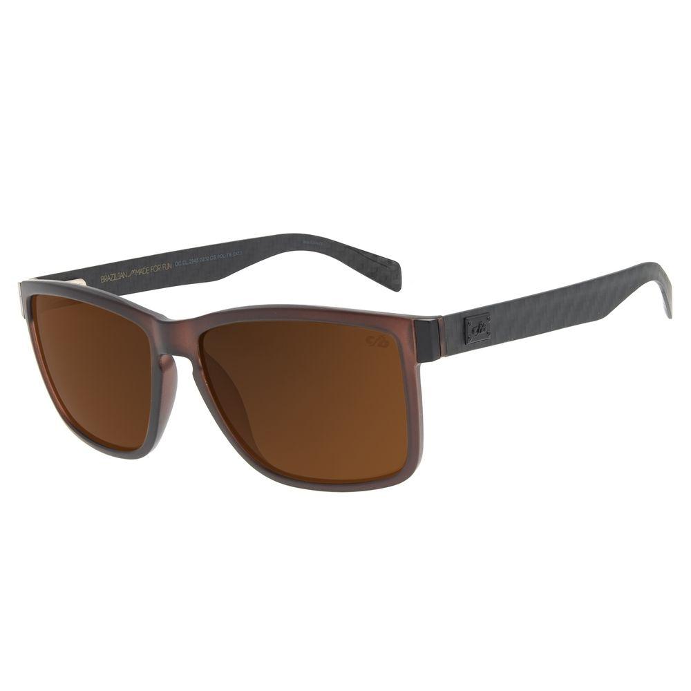 Óculos de Sol Masculino Chilli Beans Bossa Nova Polarizado Preto Classic OC.CL.2945-0202