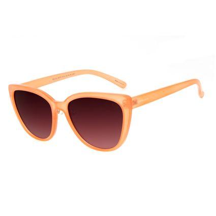 Óculos de Sol Feminino Chilli Beans Casual Redondo Bege OC.CL.3073-5723