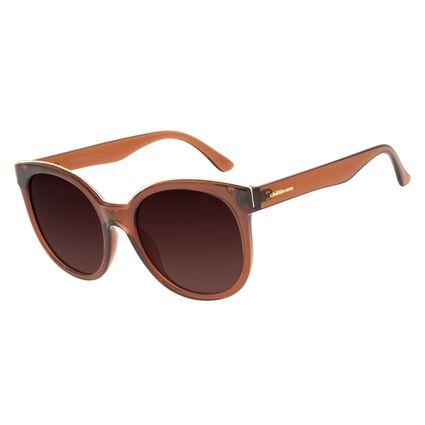 Óculos de Sol Feminino Chilli Beans Classic Quadrado Marrom OC.CL.3097-5702