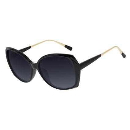 Óculos de Sol Feminino Chilli Beans Redondo Preto OC.CL.3176-2001