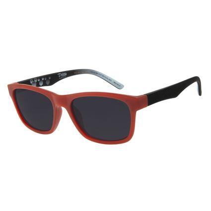 Óculos de Sol Infantil Disney Mickey Quadrado Vinho OC.KD.0651-0117