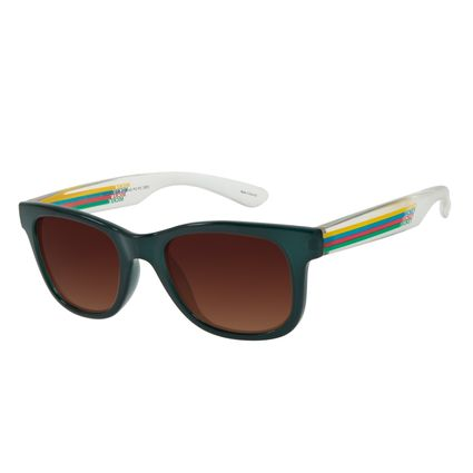 Óculos de Sol Infantil Disney Mickey Bossa Nova Degradê Marrom OC.KD.0654-5708
