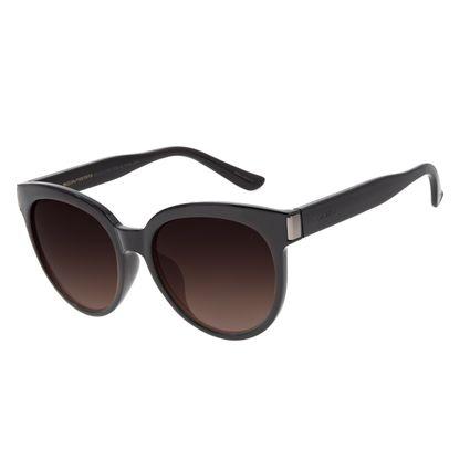 Óculos de Sol Feminino Chilli Beans Basic Redondo Marrom OC.CL.2793-5702