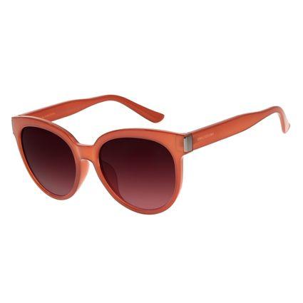 Óculos de Sol Feminino Chilli Beans Basic Redondo Bege OC.CL.2793-5723