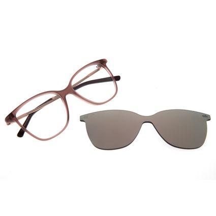 Armação Para Óculos de Grau Feminino Chilli Beans Multi Romantic Rosé LV.MU.0202-9502