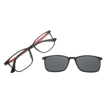 Armação Para Óculos De Grau Masculino Chilli Beans Multi Preto Polarizado LV.MU.0274-0101