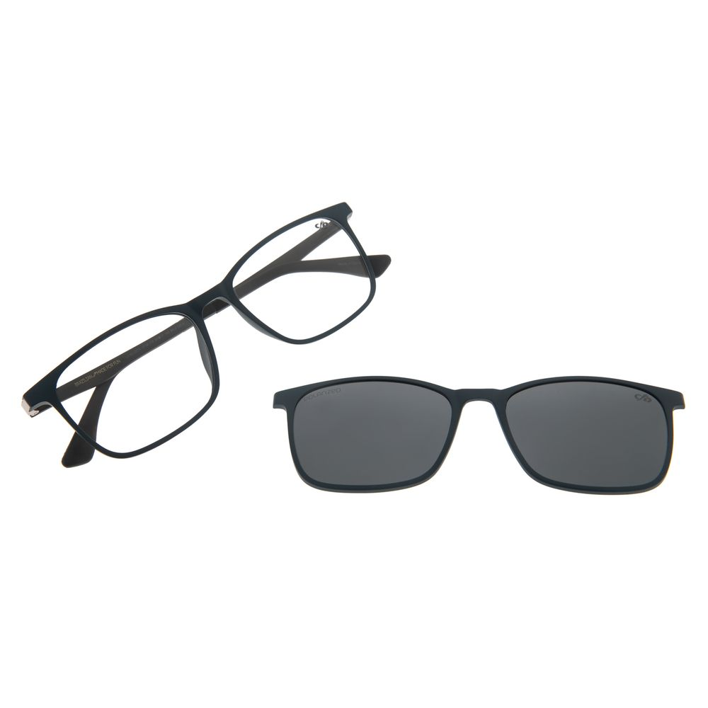 Armação Para Óculos De Grau Masculino Chilli Beans Multi Azul Polarizado LV.MU.0274-0108