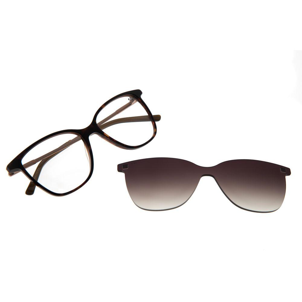 Armação Para Óculos de Grau Feminino Chilli Beans Multi Romantic Tartaruga LV.MU.0202-2006