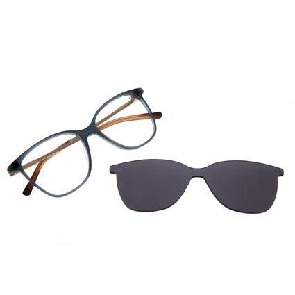Armação Para Óculos de Grau Feminino Chilli Beans Multi Romantic Azul LV.MU.0202-0408