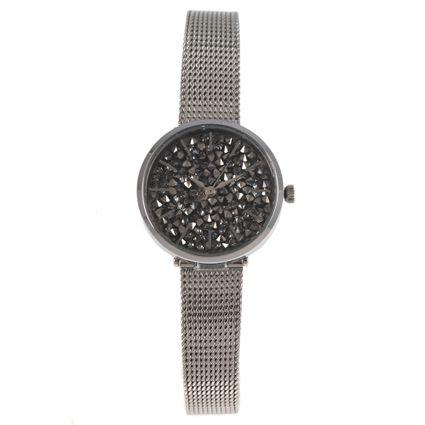 Relógio Analógico Feminino Chilli Beans Crystal Prata RE.MT.0918-0707