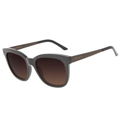 Óculos de Sol Feminino Chilli Beans Redondo Polarizado Basic Marrom OC.CL.3182-5702