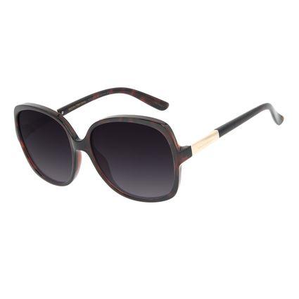 Óculos de Sol Feminino Chilli Beans Classic Quadrado Marrom OC.CL.3183-2002