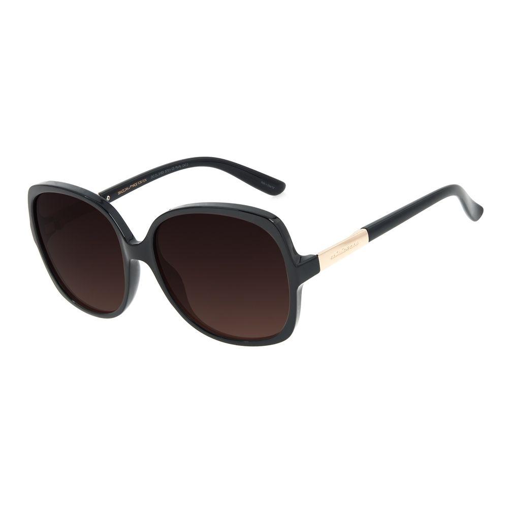 Óculos de Sol Feminino Chilli Beans Classic Quadrado Preto OC.CL.3183-5701