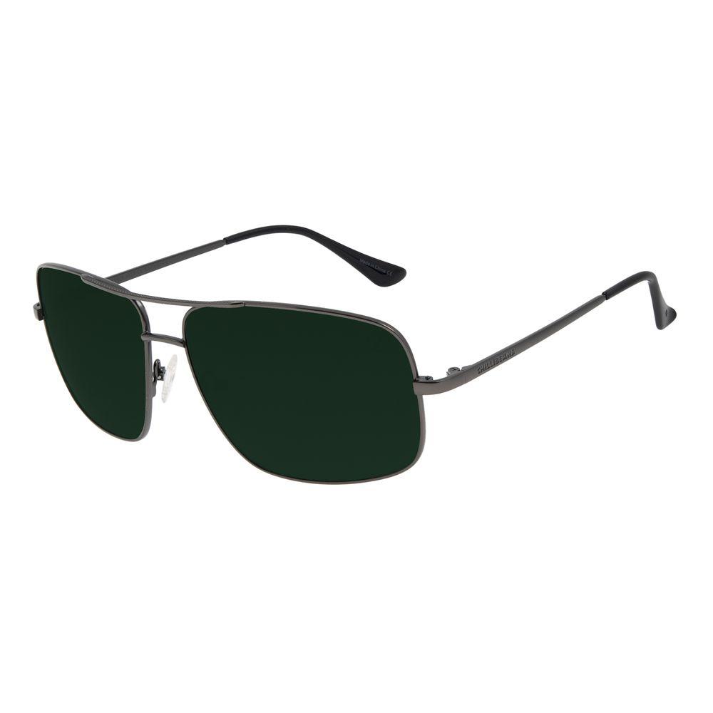 Óculos de Sol Unissex Chilli Beans Executivo Ônix OC.MT.2998-1522