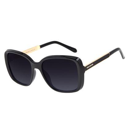 Óculos de Sol Feminino Chilli Beans Quadrado Polarizado Preto OC.CL.3188-2001