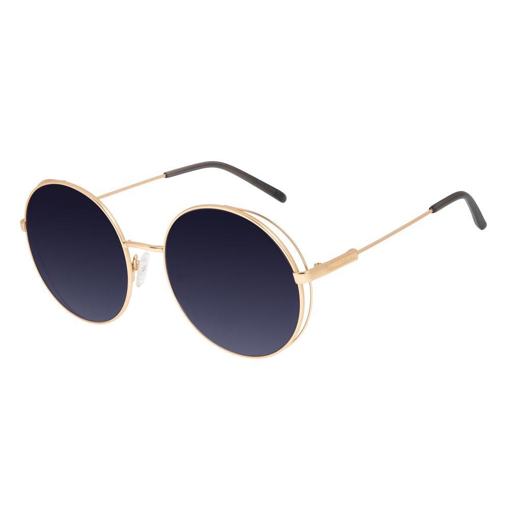 Óculos de Sol Feminino Chilli Beans Flap Degradê Banhado a Ouro OC.MT.2996-2021