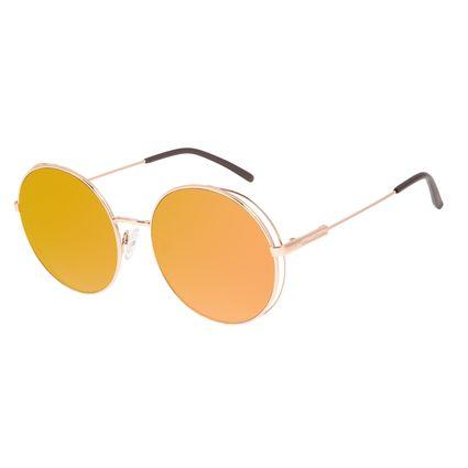 Óculos de Sol Feminino Chilli Beans Flap Rose Banhado a Ouro OC.MT.2996-5795