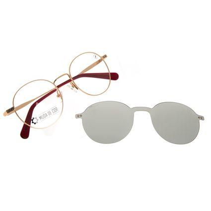 Armação Para Óculos de Grau Masculino Color Match Multi Dourado LV.MU.0524-0221
