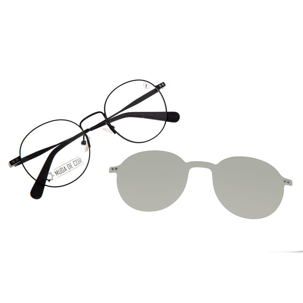 Armação Para Óculos de Grau Masculino Color Match Multi Preto LV.MU.0524-0501