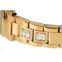 Relógio Analógico Feminino Funk-se Pedraria Dourado RE.MT.1165-2121.7