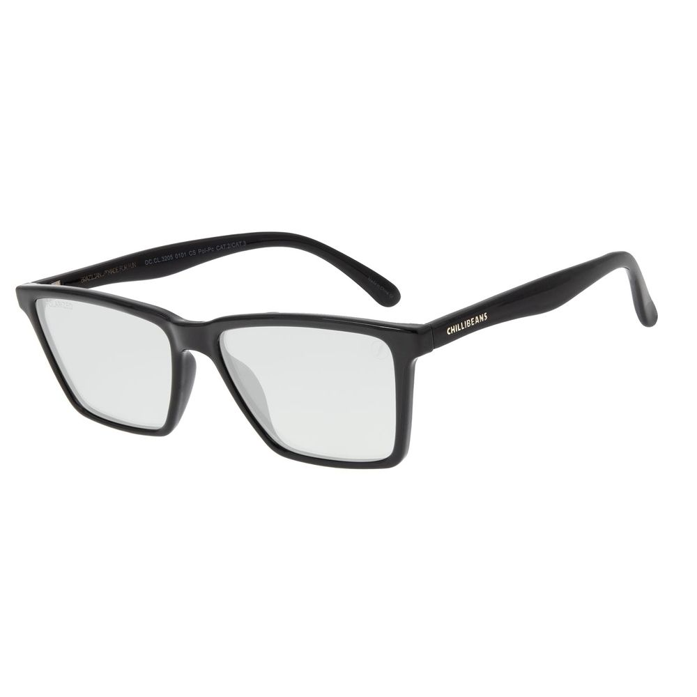 Óculos de Sol Masculino Color Match Ludmilla Bossa Nova Preto OC.CL.3205-0101