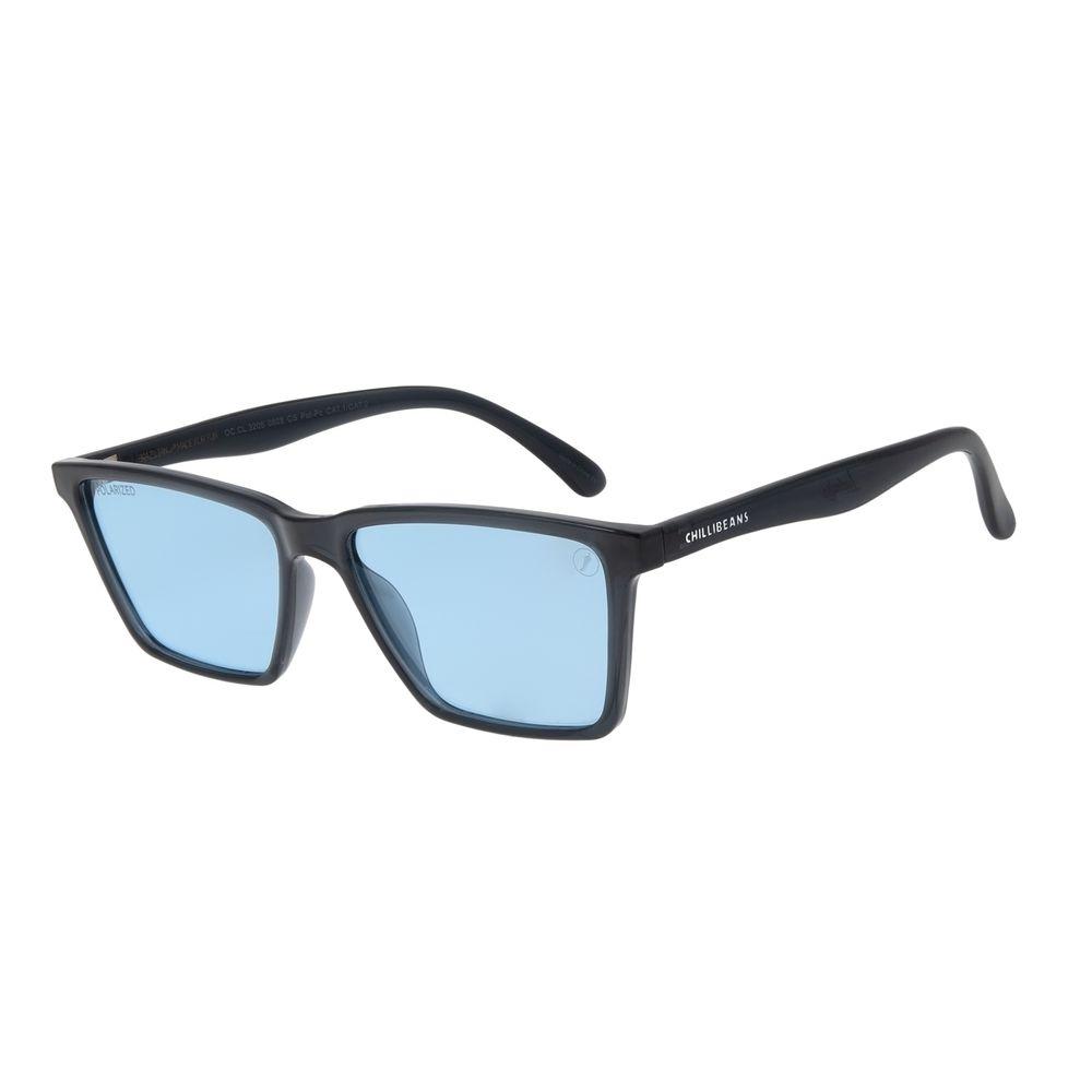 Óculos de Sol Masculino Color Match Ludmilla Bossa Nova Azul OC.CL.3205-0808