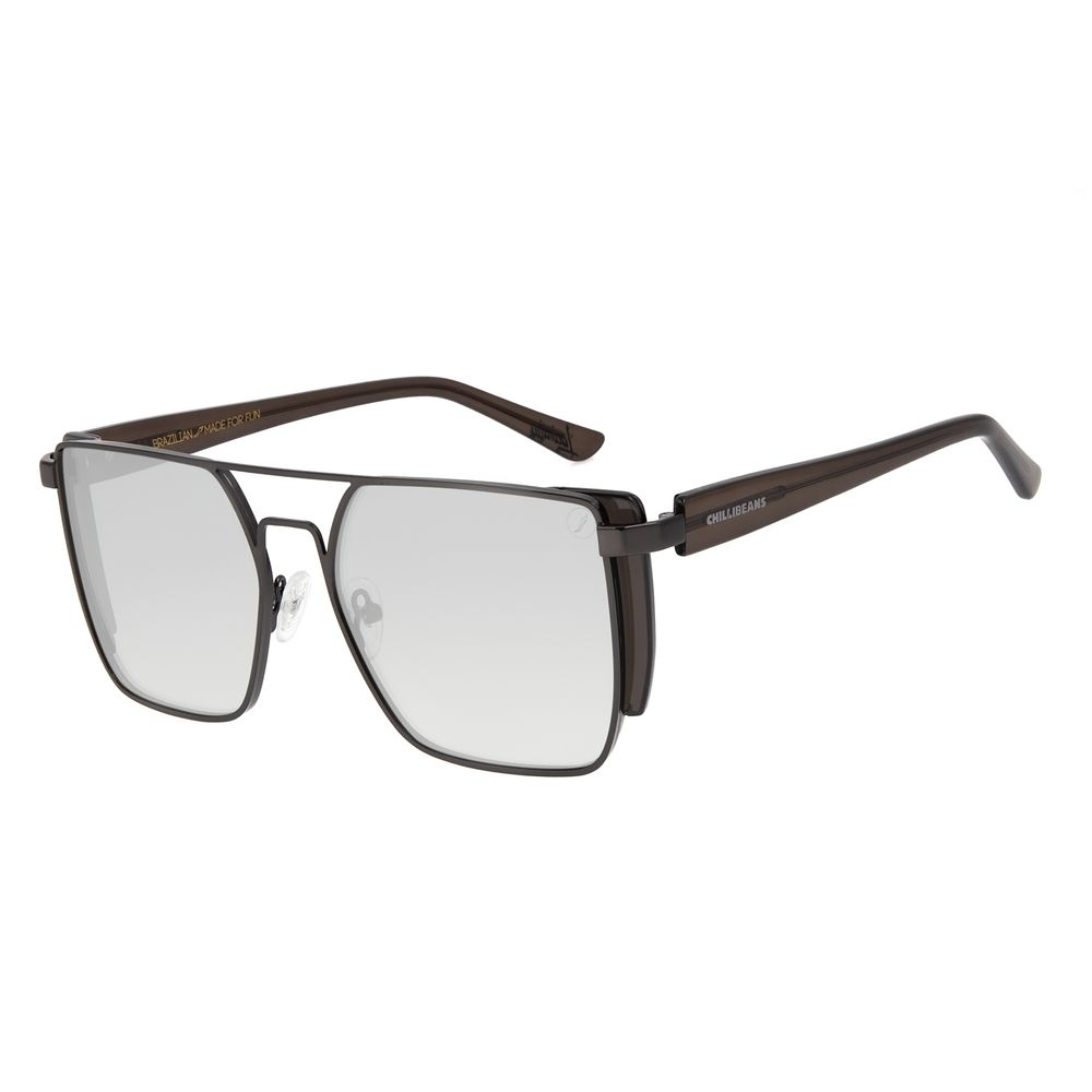 Óculos de Sol Feminino Color Match Ludmilla Concept Ônix OC.MT.3031-0122