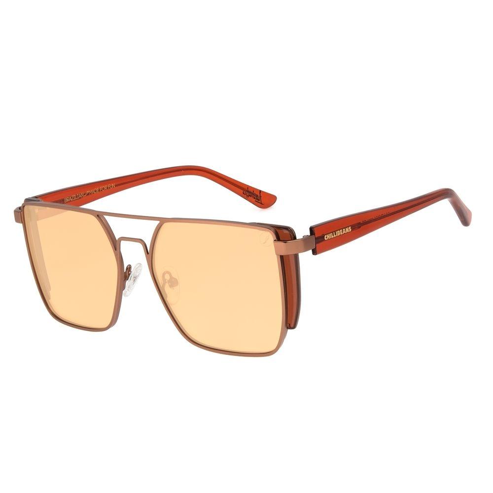 Óculos de Sol Feminino Color Macth Ludmilla Concept Marrom OC.MT.3031-0221