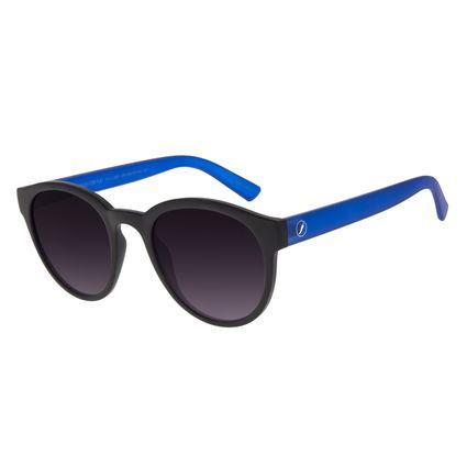 Óculos de Sol Unissex Color Match Redondo Preto OC.CL.3207-2001