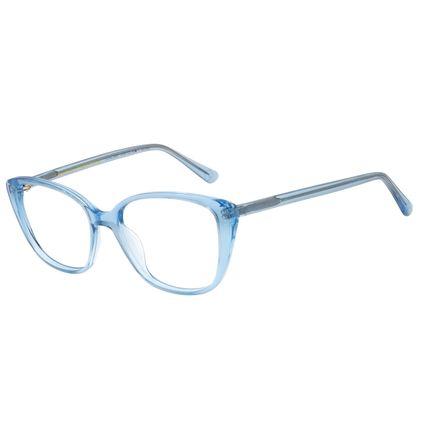 Armação Para Óculos de Grau Feminino Color Match Ludmilla Azul LV.AC.0687-0808