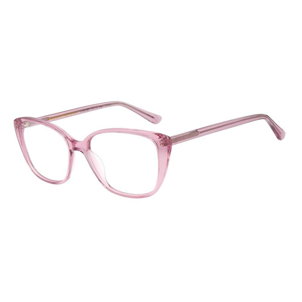 Armação Para Óculos de Grau Feminino Color Match Ludmilla Rosa LV.AC.0687-1313