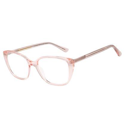 Armação Para Óculos de Grau Feminino Color Match Ludmilla Rosé LV.AC.0687-9595