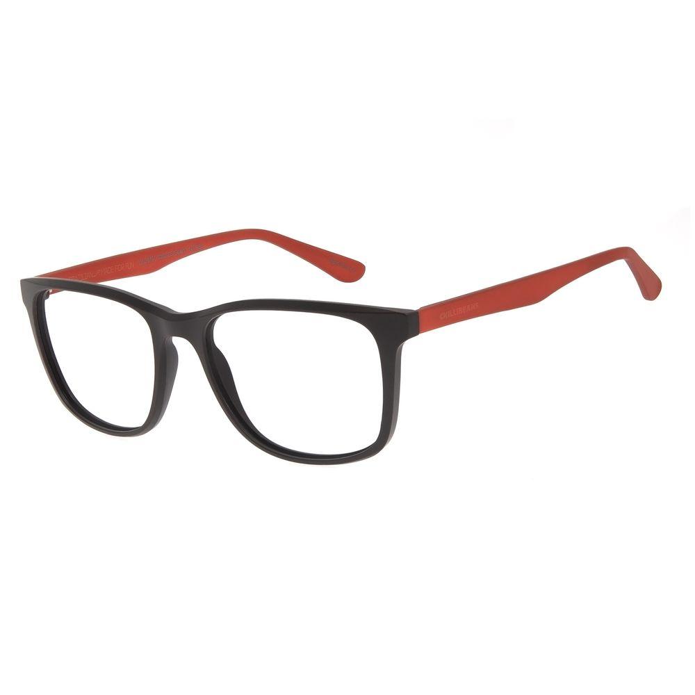 Armação Para Óculos de Grau Masculino Color Match Marrom LV.IJ.0191-0202