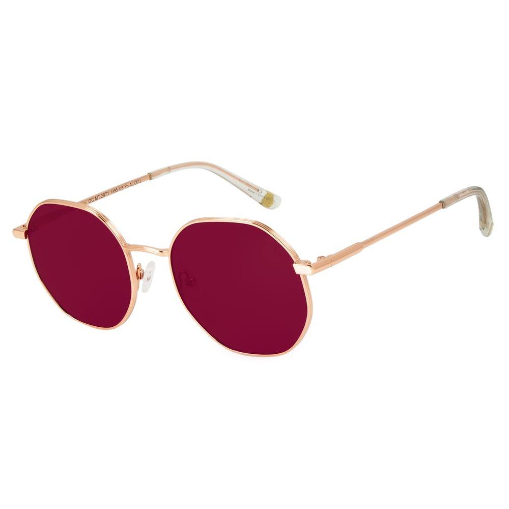 Óculos de Sol Feminino Chilli Beans Redondo Roxo OC.MT.2971-1495